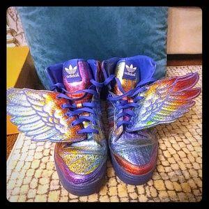 Adidas by Jeremy Scott JS Wings 'Rainbow Foil'